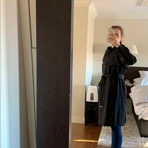 Soia & Kyo Jackets & Coats - Soia & Kyo Black Brigatta Trench